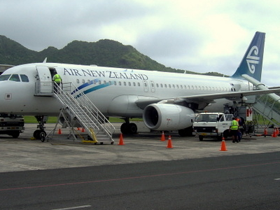 Air New Zealand Airbus  A 320
