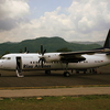Airplane At Komodo Labuan Bajo Airport