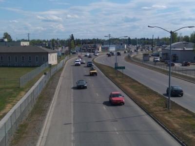 Airport  Way  Fairbanks  Alaska  Eastbound