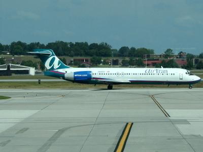 AirTran At McGhee Tyson Airport