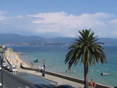 Seafront Boulevard In Ajaccio