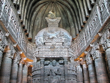 A Work Of Hall Ajanta Caves