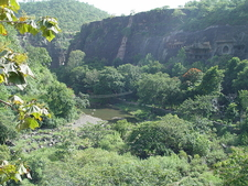 The View Of Ajanta Caves