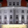 The Akademietheater At Night