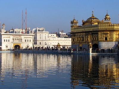 Akal Takht And Harmandir Sahib
