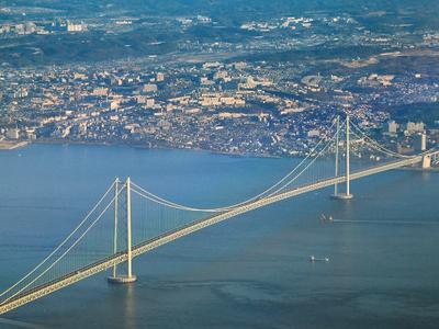 The Akashi-Kaikyō Bridge