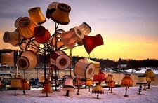 Aker Brygge Artistic Lamps - Oslo Norway