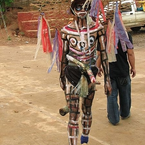 Akha Exorcist At A Village Funeral