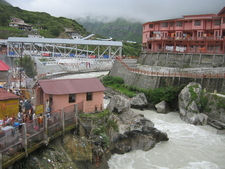 Alaknanda River In Badrinath