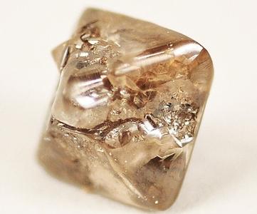 A Large Brown Argyle Diamond