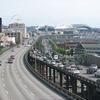Alaskan Way Viaduct Looking Southeast - Seattle WA