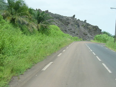 A Lava Flow Of Mount Cameroon