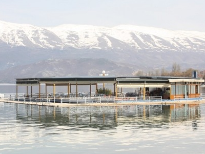 Pogradec Along Lake Ohrid
