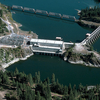 Albeni Falls Dam On Pend Oreille River