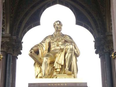 The Memorial Statue Of Albert