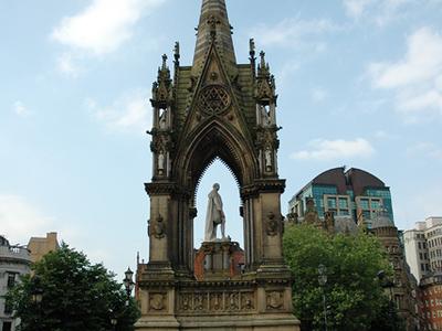 The Albert Memorial, Manchester