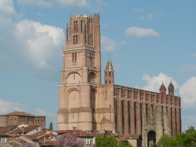 View Of Albi Cathedral