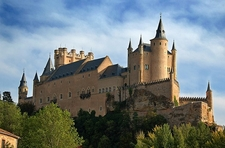 Alcazar Castle In Segovia