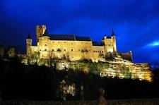 Alcazar De Segovia - Night View