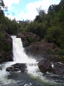 Waterfall Of The Chaicas River