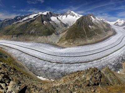 Aletsch Glacier - Bernese Alps