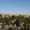 View Of The Alhambra From The Mirador De San Nicolas In The Alba