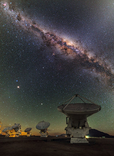 ALMA And The Center Of The Milky Way