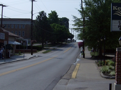 Along Ky1268 In Downtown Wilmore