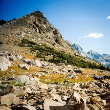 Alongside Paintbrush & Cascade Loop Trail - Grand Tetons - Wyoming - USA