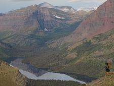 Along Triple Divide Trail- Glacier - Montana - USA