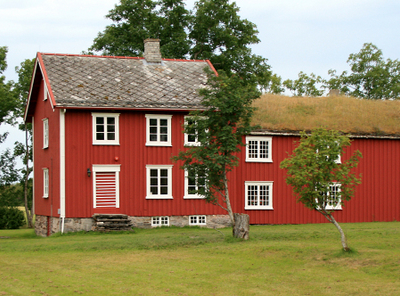 Old Parsonage At Alstahaug Is Protected