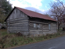 Altamont Old Log Courthouse