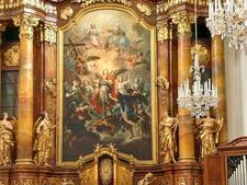 Altarpiece Of Ursulinenkirche, Linz, Austria