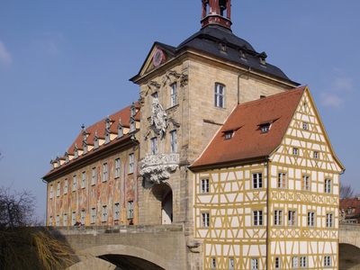 Altes Rathaus Former City Hall In Bamberg.