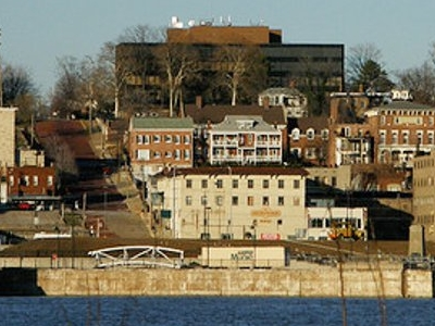 Alton From Mississippi River.