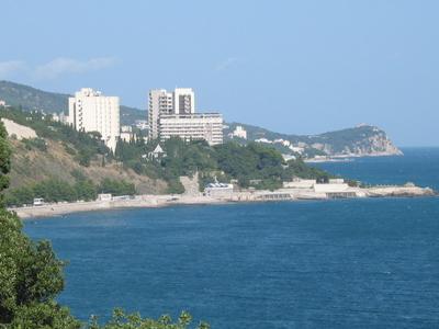 Black Sea Coast At Alupka
