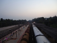 Aluva Railway Station View