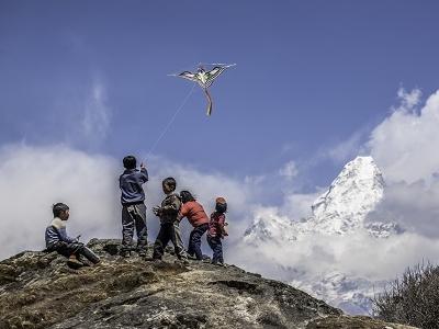 Ama Dablam From Khumjung - Sagarmatha NP