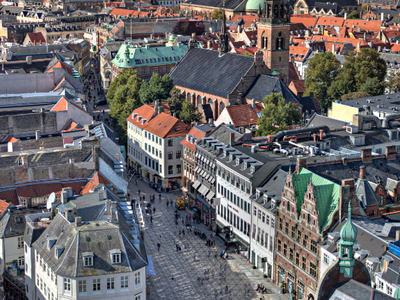 Amagertorv Seen From The Top