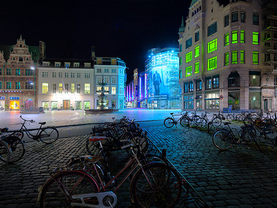 Amagertorv By Night