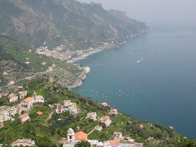 Amalfi Coast Looking South From Ravello