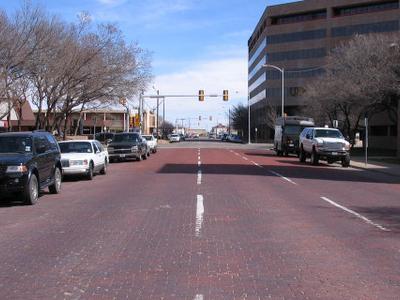 Street Around Amarillo's
