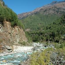 Trail Phakding a Namache