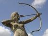 Amazon Archer Statue Auburn California