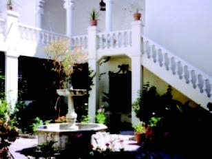 The American Legation Courtyard