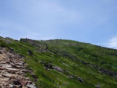 A Mount Iō From Natsuzawa Pass