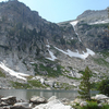 Amphitheater Lake - Grand Tetons - Wyoming - USA