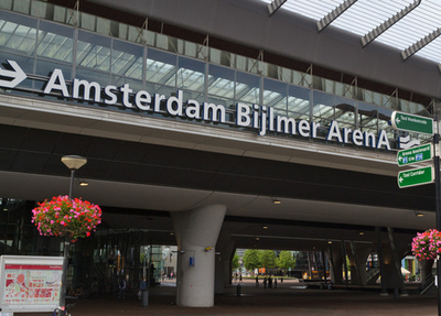 Amsterdam Bijlmer ArenA Station Exterior