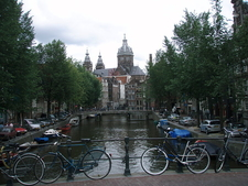 Amsterdam Canals In Summer