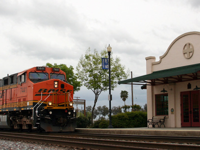 Amtrak Station In Corcoran